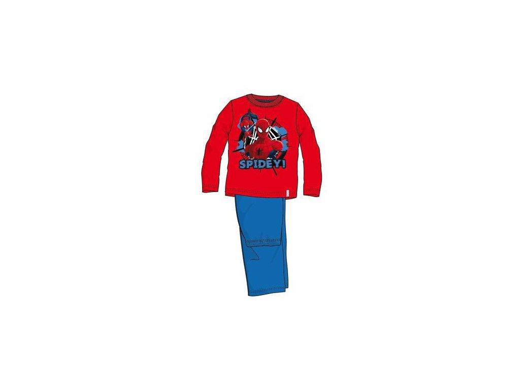 Spiderman pyžama červené model A