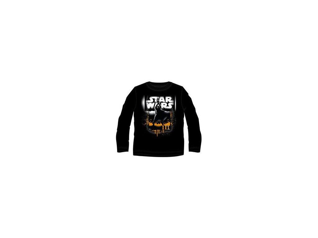 Star Wars tričko černé model A