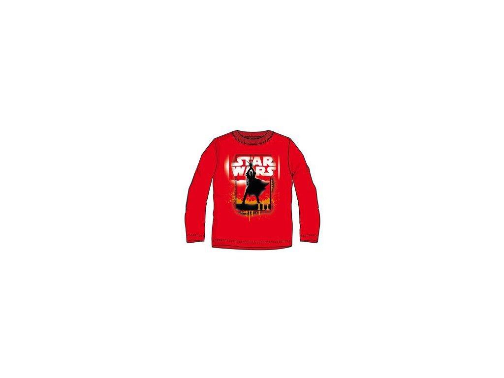 Star Wars tričko červené