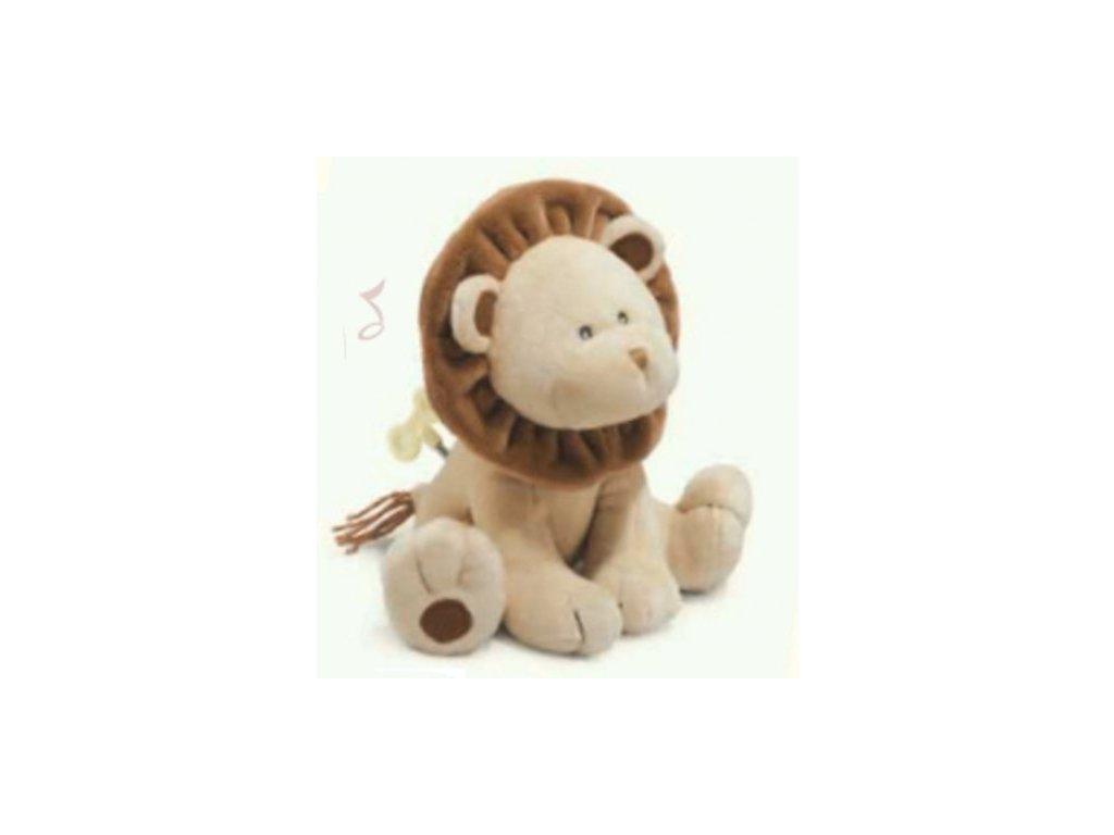 Plyšová hračka lvíček na spaní