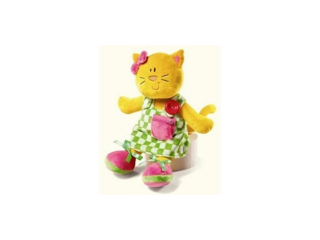 Knoflíková panenka kočička
