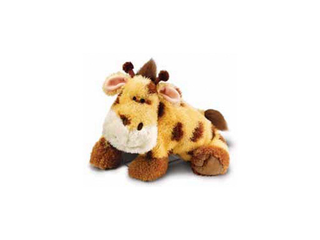 Polštářek dětský plyšová žirafa 36x18