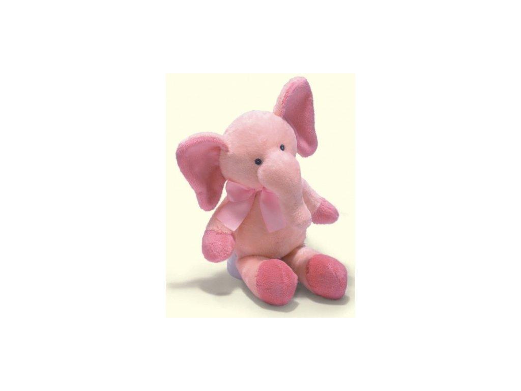 Slon růžový chrastící