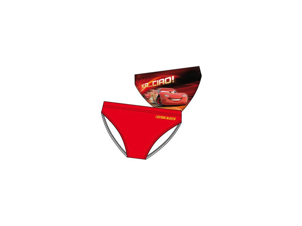Cars Auta plavky červené C1
