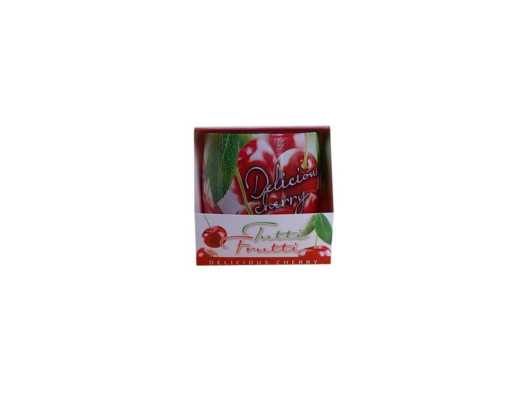 Svíčka tutti frutti delicius cherry 100g