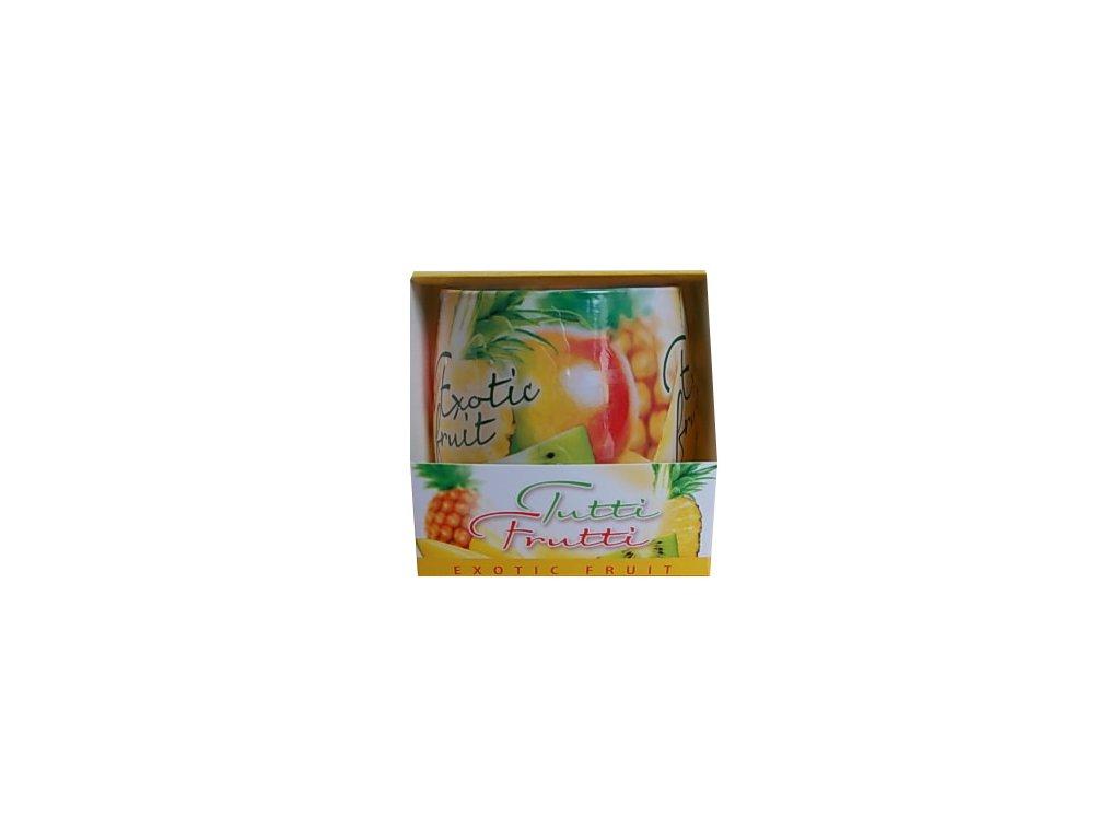 Svíčky vonné tutti frutti exotic fruit 100g