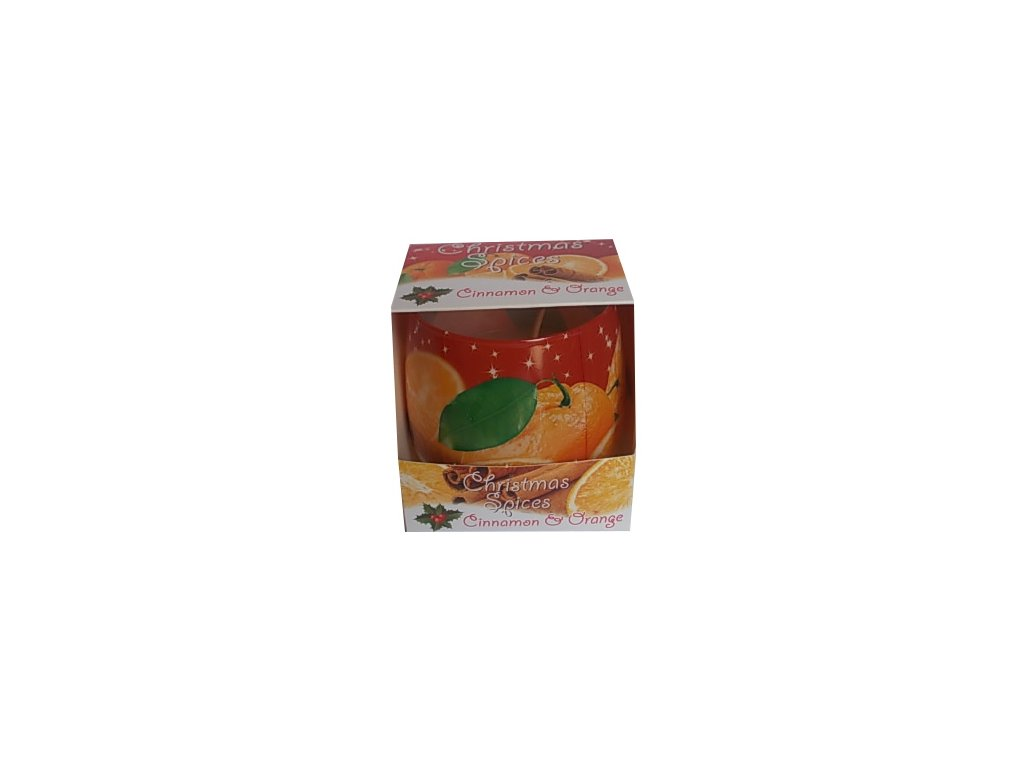 Vonné svíčky Christmas Cinnamon Orange