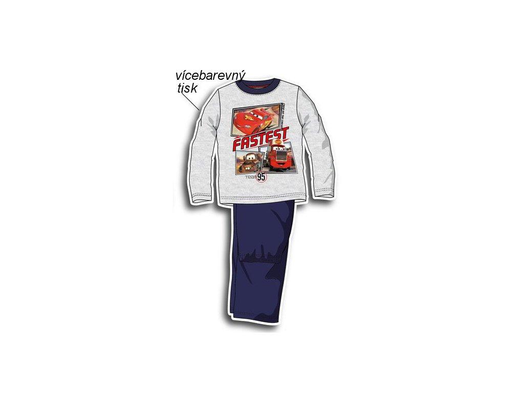 Chlapecká pyžama Cars nová kolekce