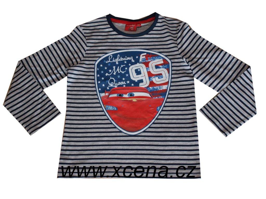 Chlapecké tričko Cars pruhované nová kolekce