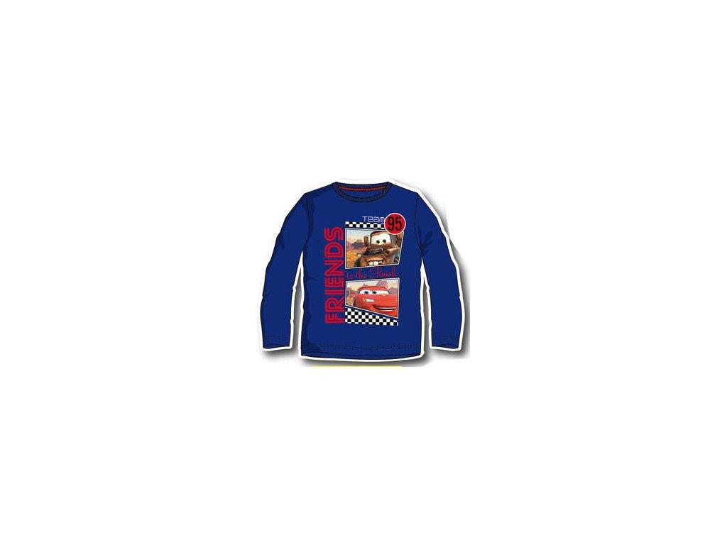 Chlapecká trička Cars modrá