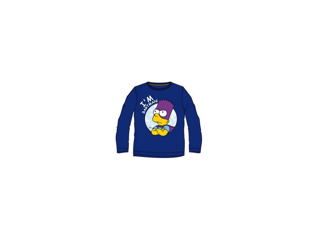 Bart Simpson tričko dětské modré