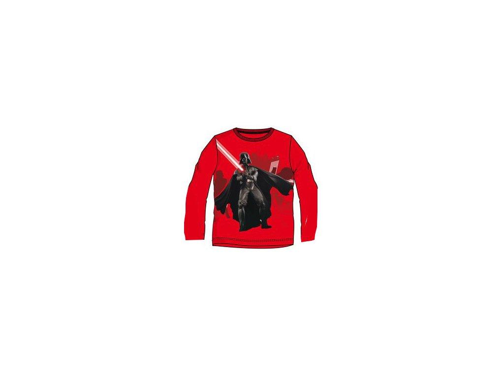 Star Wars triko dětské červené