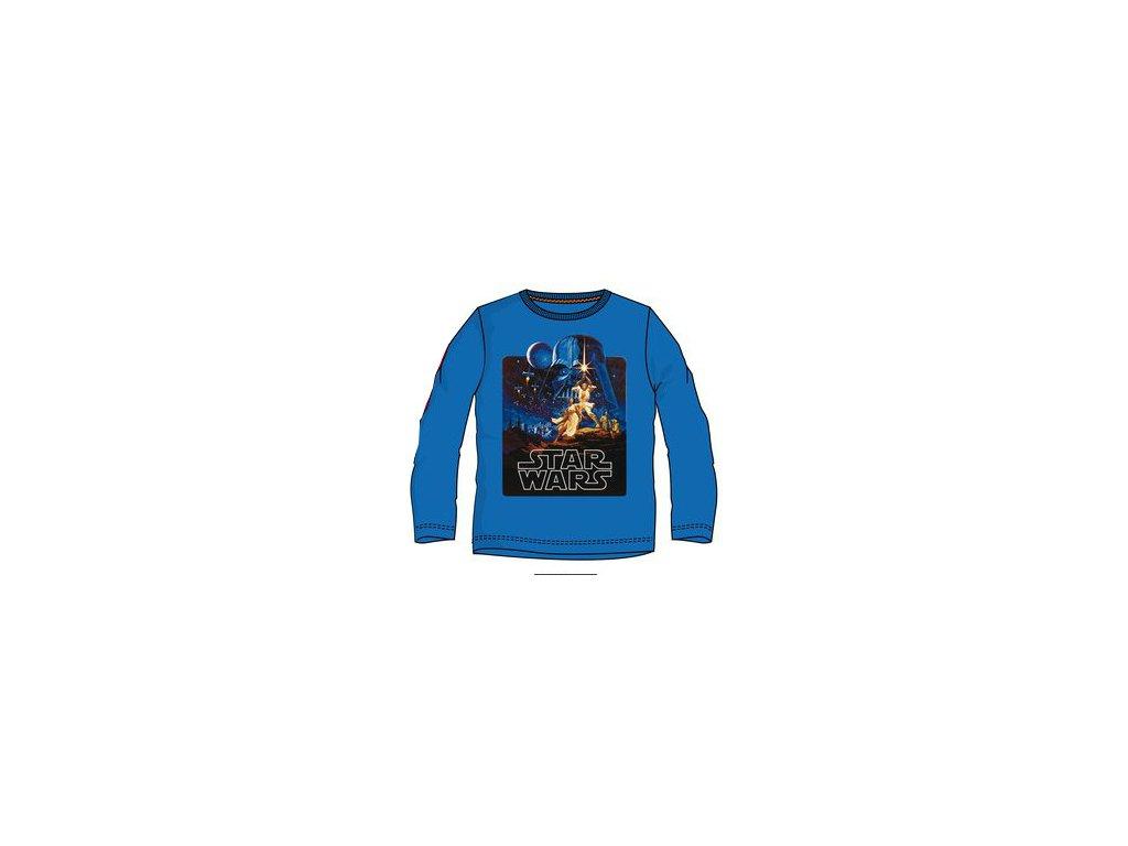 Star Wars tričko dětské modré