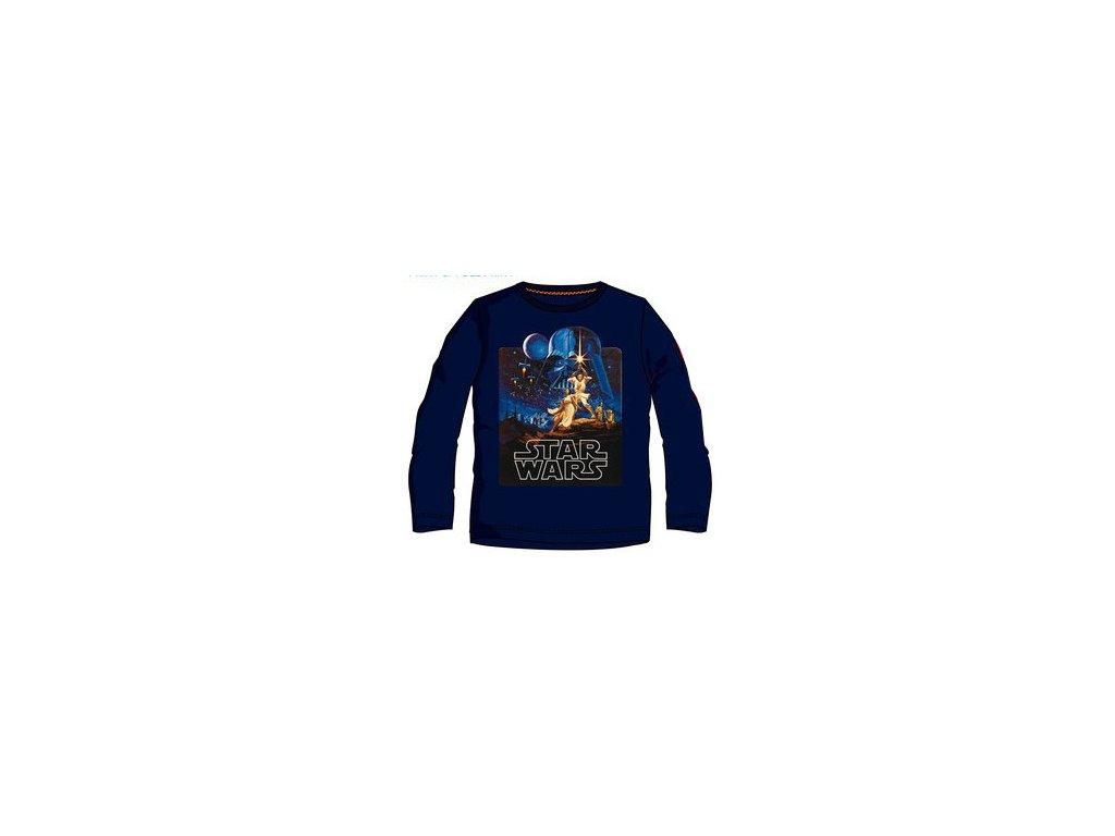 Star Wars tričko dětské tmavě modré