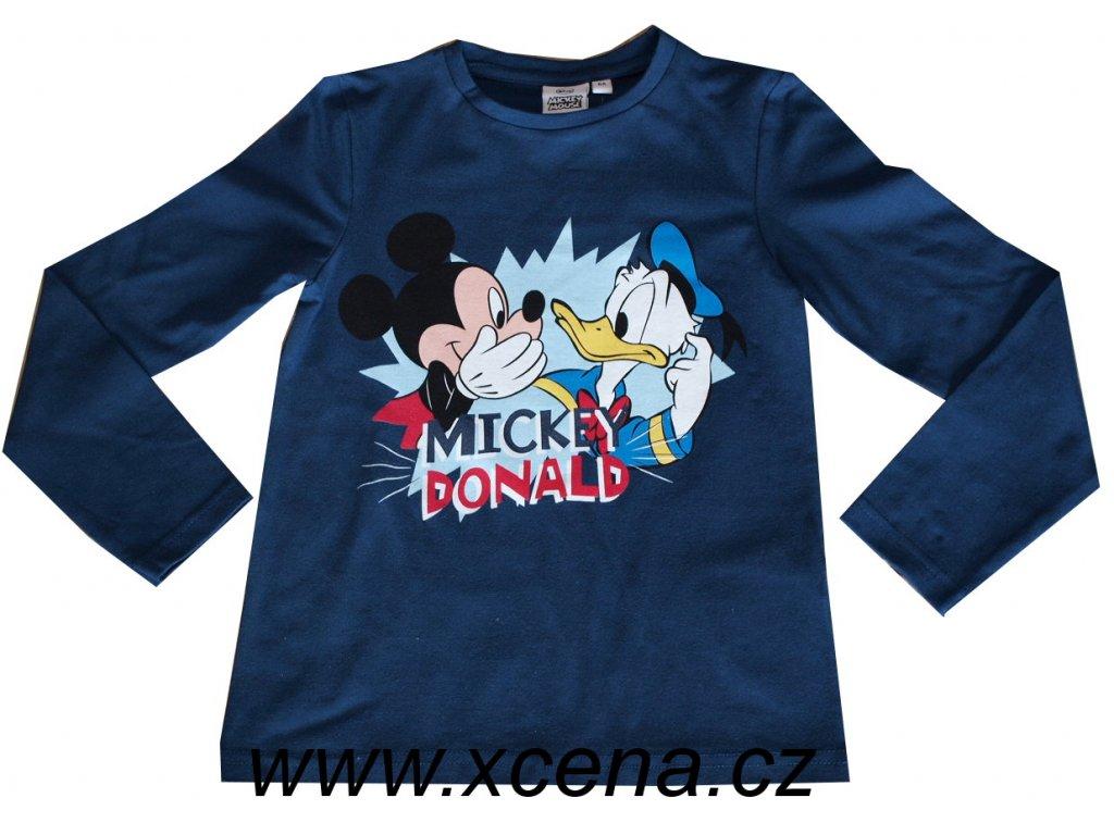 Tričko Mickey Mouse a kačerem Donaldem