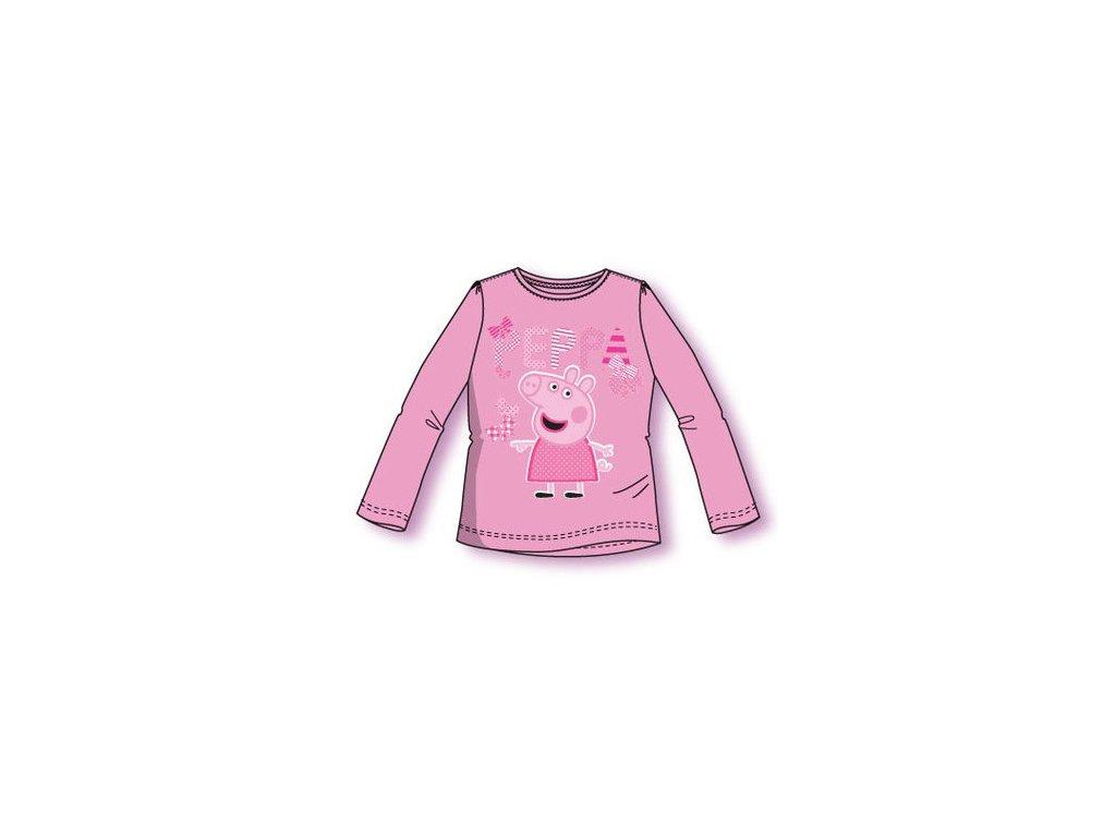 Peppa prasátko tričko růžové model A