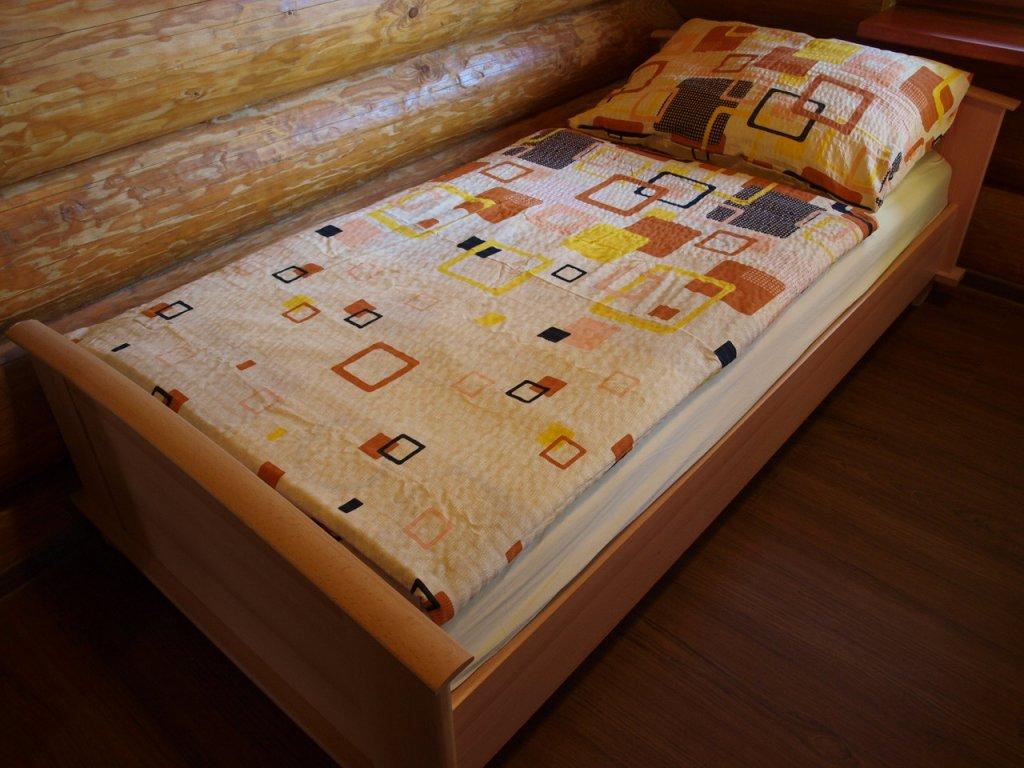 Povlečení bavlna 140x200, 70x90 béžová