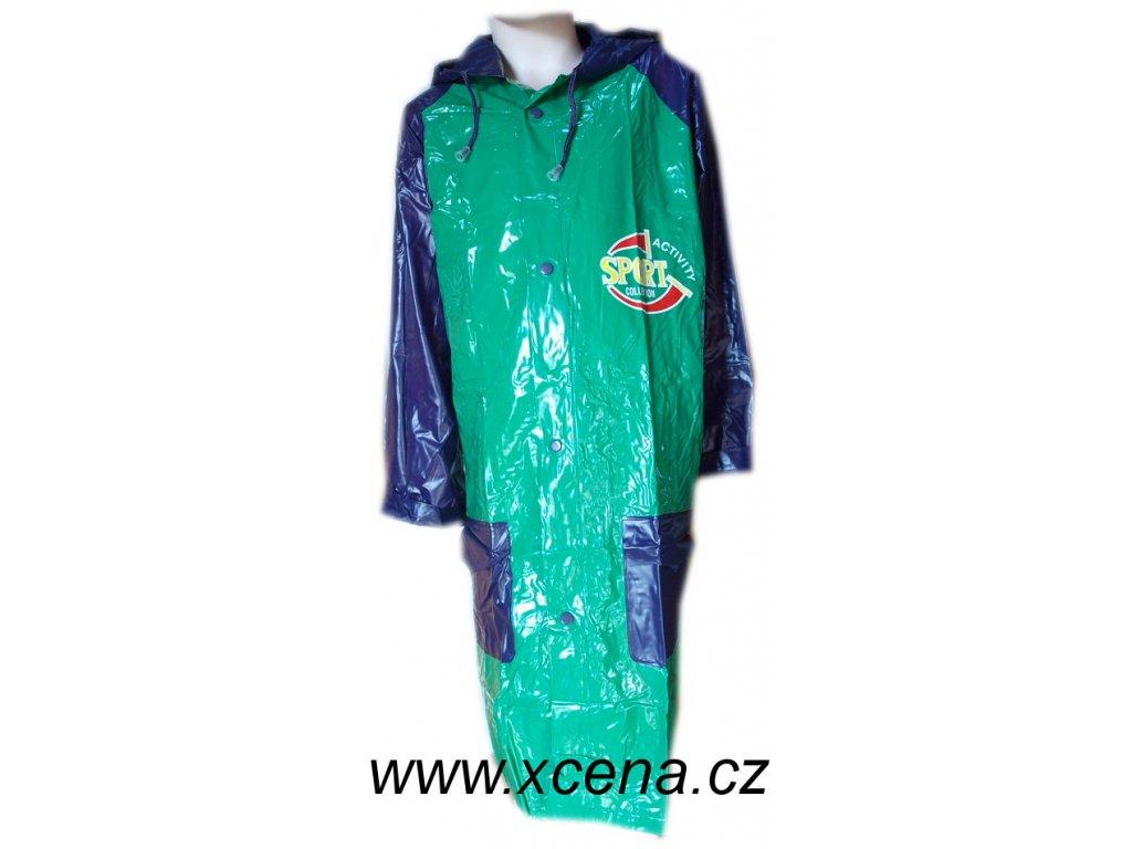 Dětské pláštěnky zelenofialové