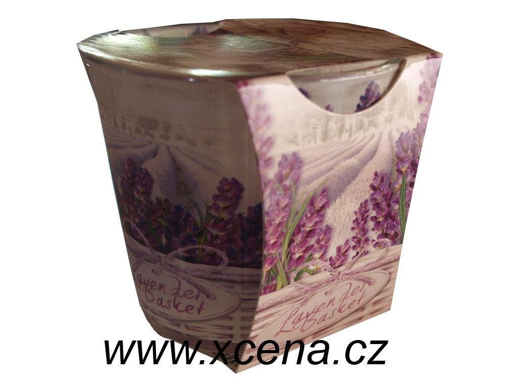 Svíčka ve skle Fresh Lavender 115g
