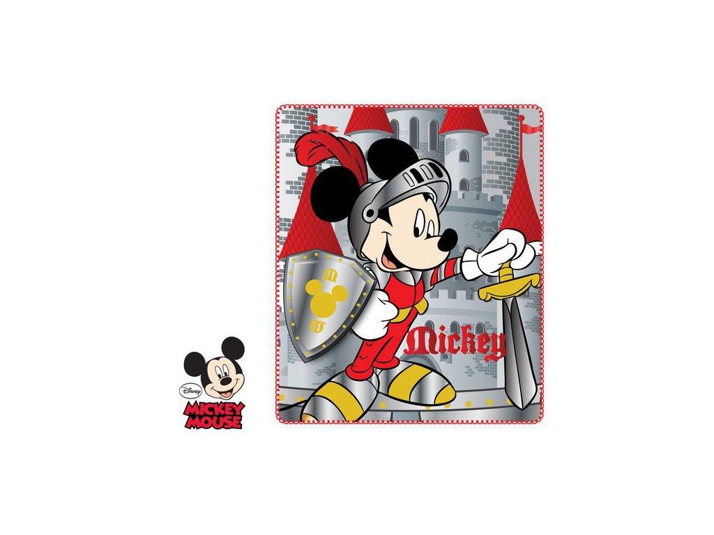 Mickey Mouse dětská deka polar fleece