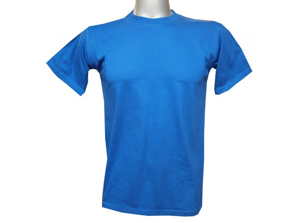 Dětské bavlněné tričko modré