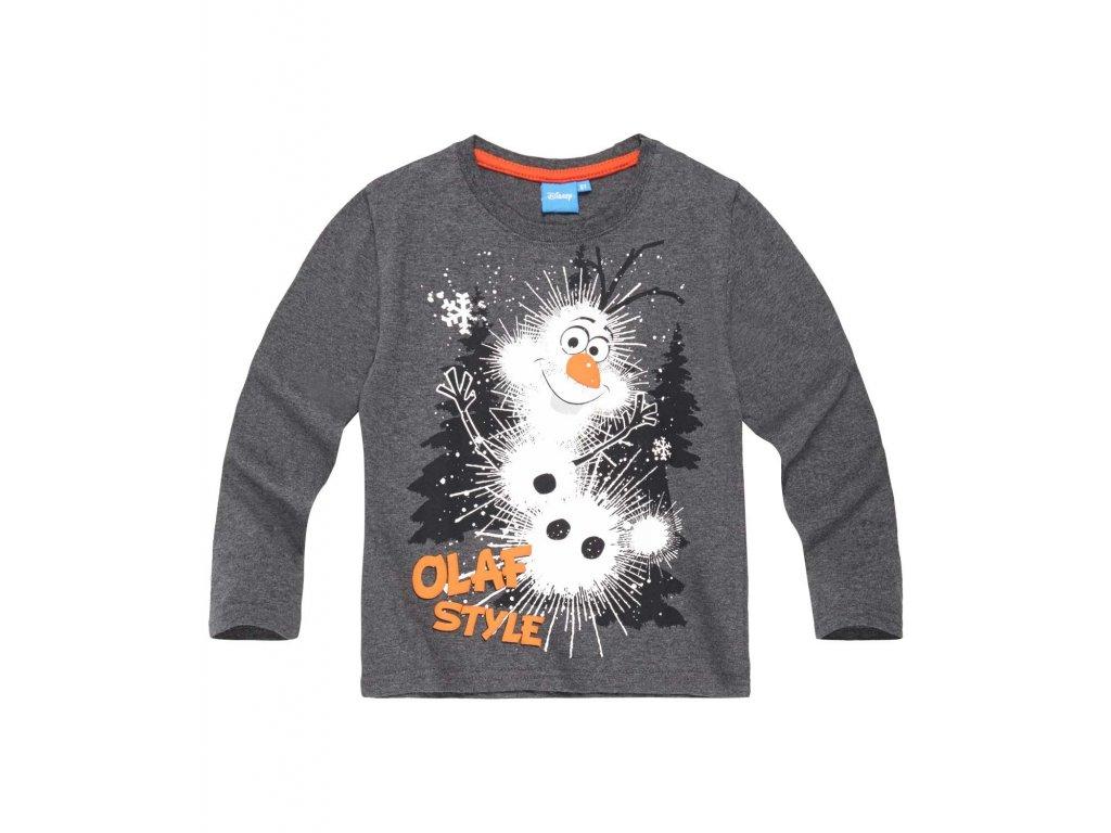 Olaf Frozen tričko šedé
