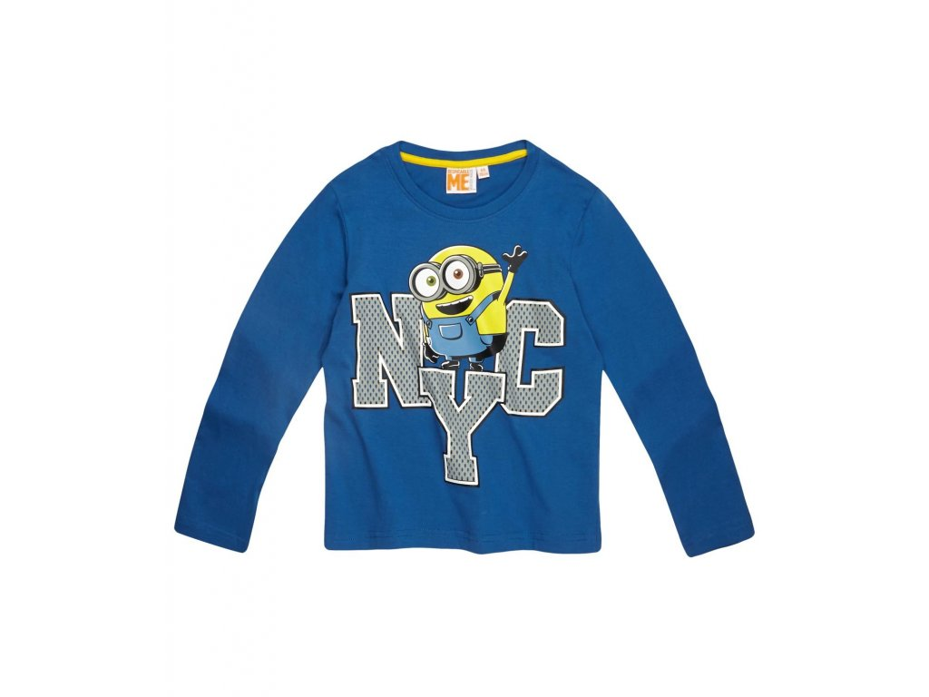 Mimoni, Minions Mimoň tričko chlapecké modré
