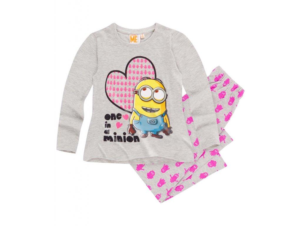 Mimoň, Minion pyžamo šedé dětské