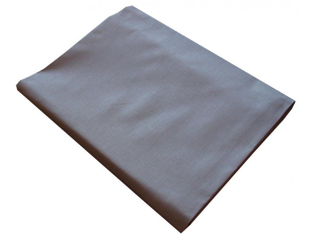 Bavlněné prostěradla plachty šedé 140x225