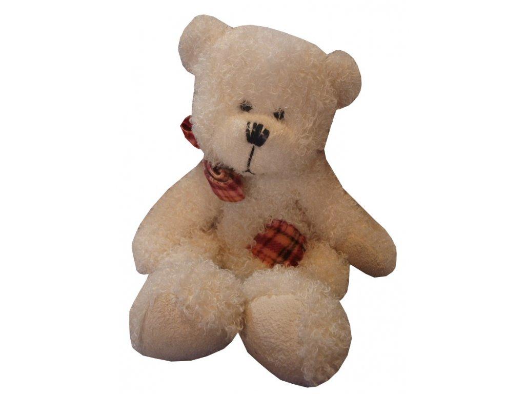 Hračka plyšová medvídek s mašličkou