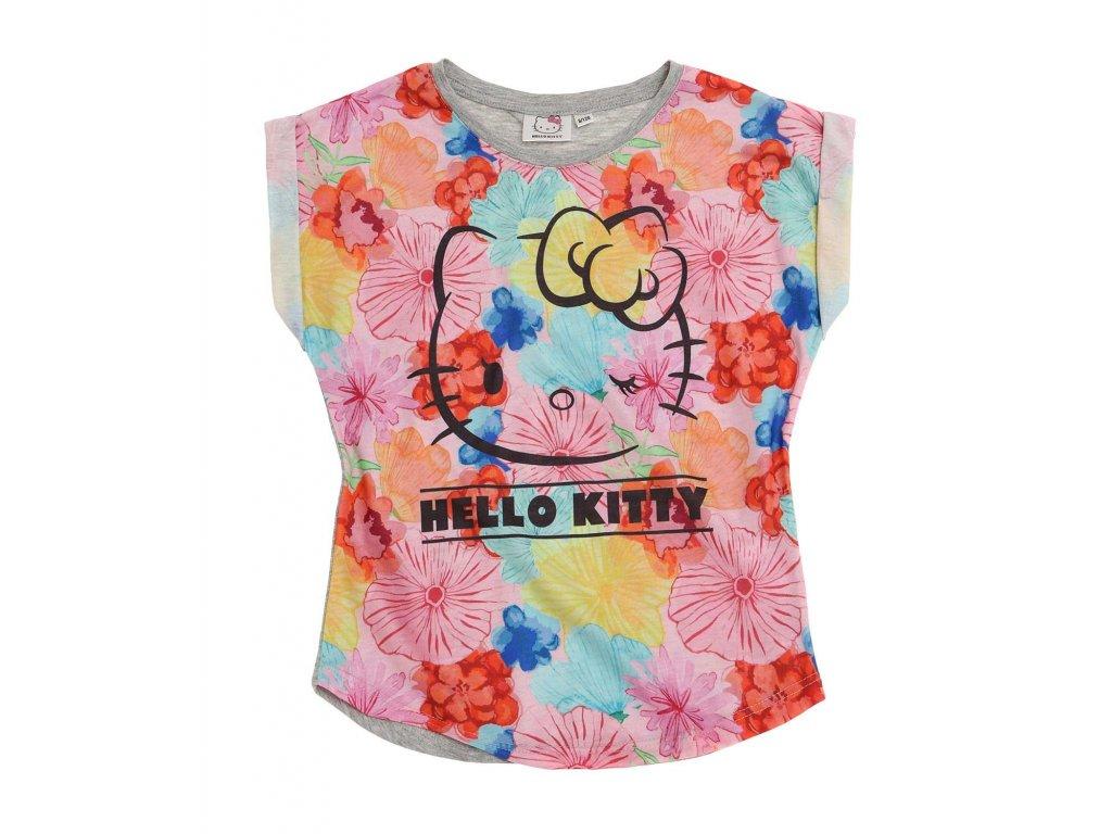 Hello Kitty tričko šedé