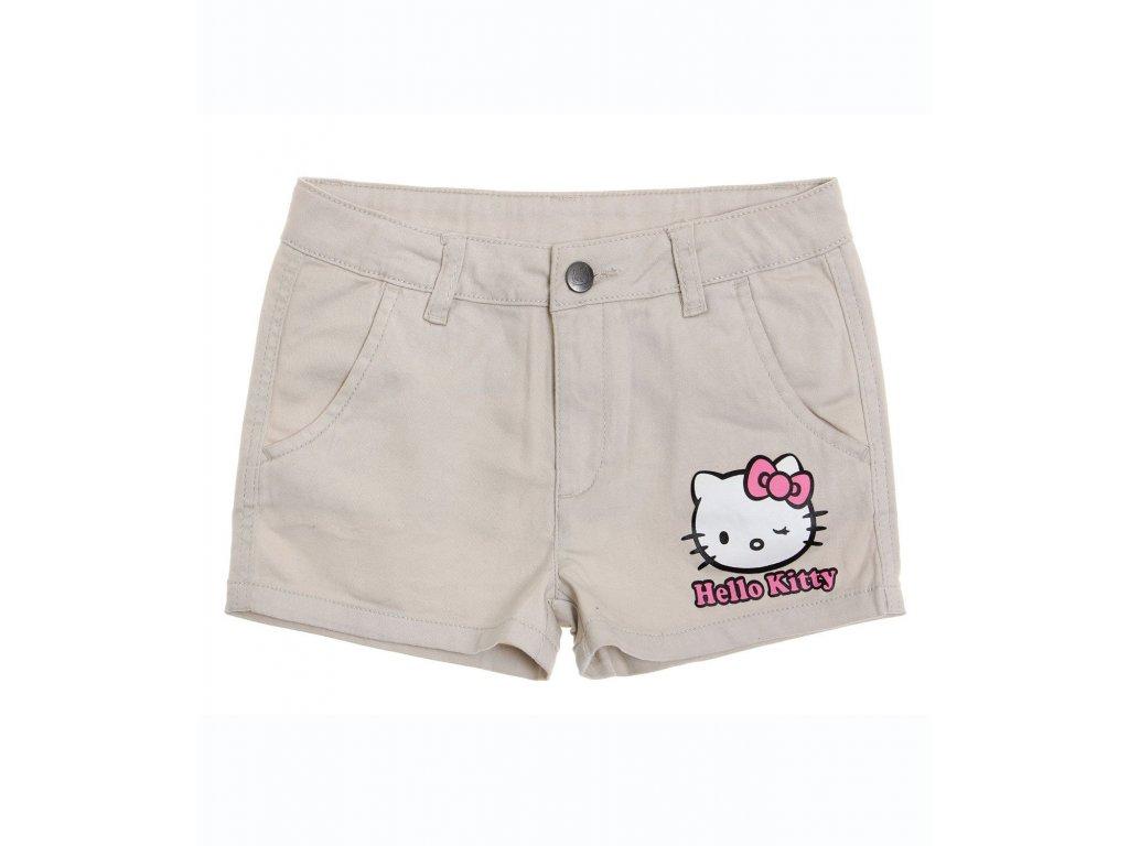 Kraťasy Hello Kitty béžové