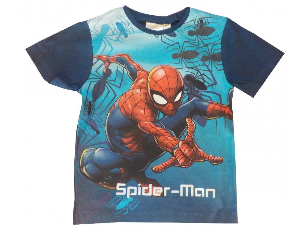 Spiderman trika nová kolekce modré