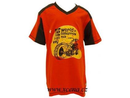 Chlapecké trička oranžové