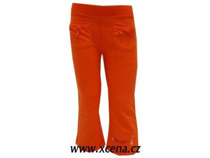 Legíny dívčí oranžové