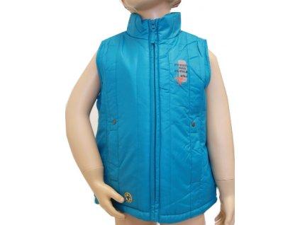 Dětská vesta modrá model A