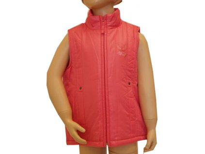 Vesta dětská světle růžová model A
