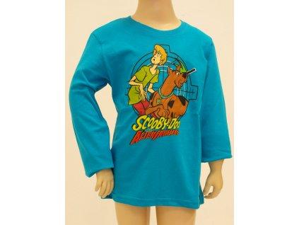 Scooby doo trika tyrkysová