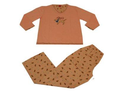 Dětské pyžamo, růžové