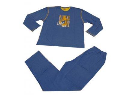 Dětské pyžamo modré