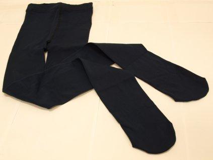 Dámské legíny s ťapkami tmavě modré