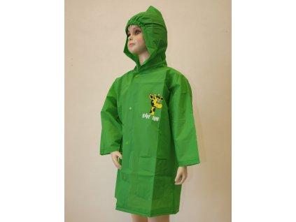 Dětské pláštěnky zelené