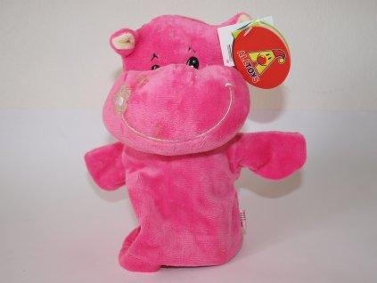 Plyšový maňásek růžový
