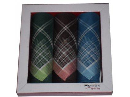Kapesníky bavlna 30x30cm mix barva