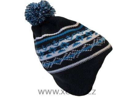Chlapecká zimní čepice podšitá fleecem