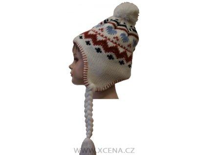Dětská zimní čepice podšitá fleecem