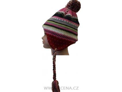 Čepice podšitá fleecem
