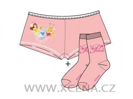 Princezna kalhotky s ponožkami