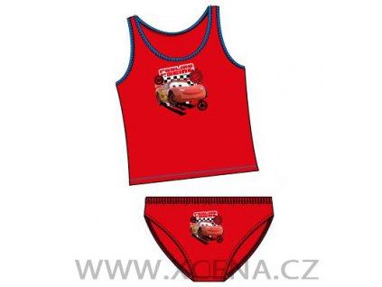Cars McQueen tílko slipy červené