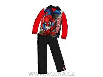 Spiderman souprava červená